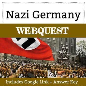 Nazi Germany Holocaust Webquest