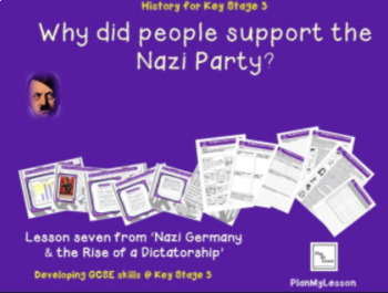 Nazi Germany: L7Why did people support the Nazi Party?