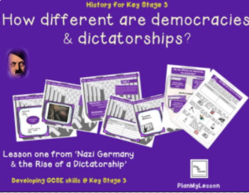 Nazi Germany: Lesson 1 How different are democracies and dictatorships?