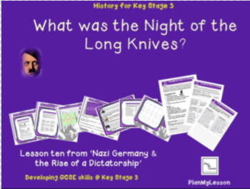 Nazi Germany: Lesson 10: What was the Night of the Long Knives?