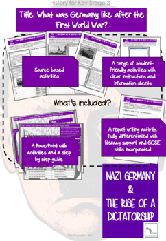Nazi Germany: Lesson 2 What was Germany like at the end of the First World War?