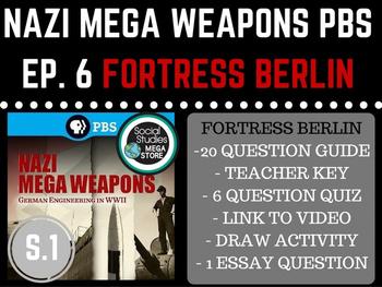 Nazi Mega Weapons PBS Fortress Berlin Season 1 Ep. 6 World War II
