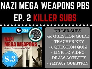Nazi Mega Weapons PBS Hitler's Killer Subs Season 3 Ep. 3