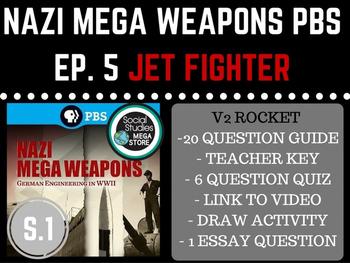 Nazi Mega Weapons PBS Jet Fighter Season 1 Ep. 5 World War II