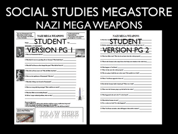 Nazi Mega Weapons PBS SS Season 2 Ep. 3 World War II