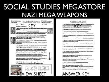 Nazi Mega Weapons PBS  Season 1-3 Bundle 18  Episodes World War II
