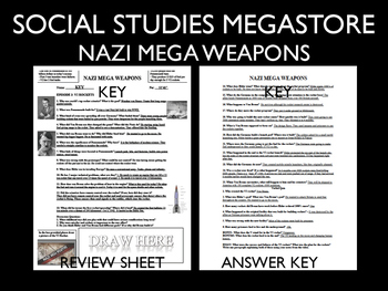 Nazi Mega Weapons PBS V1 Hitlers Vengeance Season 2 Ep. 1 World War II