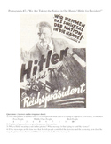 Nazi Propaganda Analysis for the LA or SS Classroom--3 Lessons