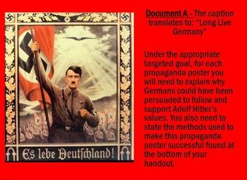 Nazi Propaganda DBQ Activity