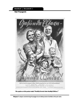 Nazi Propaganda Handout
