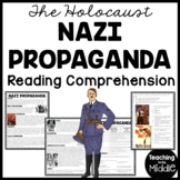 Nazi Propaganda Reading Comprehension Worksheet World War II (2) Holocaust