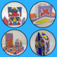 Ndebele modroc houses: colour & geometry, sculpture & painting scheme of work