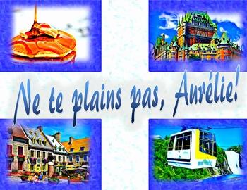 Ne te plains pas, Aurélie! - French CI - TPRS - reflexive verbs and negation