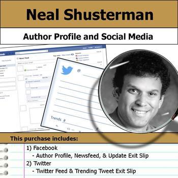 Neal Shusterman - Author Study - Profile and Social Media
