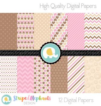 Neapolitan Digital Papers