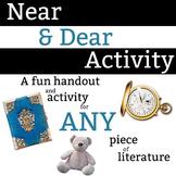 Near & Dear Characterization Activity - 30 minute activity
