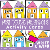 Near Doubles Addition Activity - Near Double Neighbors