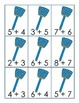 Near Doubles Addition Fly and Fly Swatter Match 1.OA.6