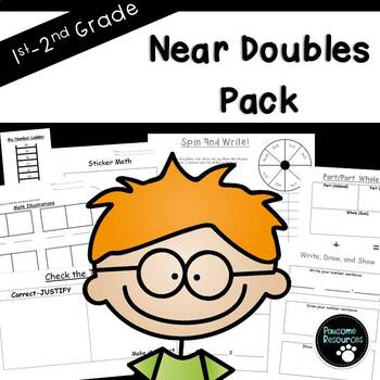 Near Doubles Fact Pack-EDITABLE!