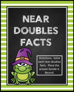 Near Doubles Facts