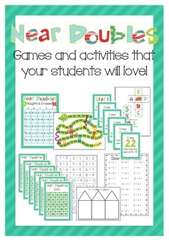 Near Doubles- Games and activities your kids will love!