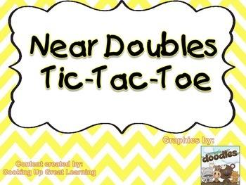 Near Doubles Tic-Tac-Toe