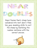 Near Doubles - a doubling game