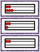 Near doubles Rekenrek Cards