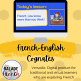 Digital Learning with NearPod : French-English Cognates