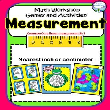 Measurement Games COMMON CORE Nearest inch and centimeter