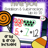 Nearpod Halloween Math Centers Addition and Subtraction wi