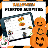 Nearpod Halloween Reading Games for Literacy Centers and C