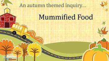 Nearpod activity Mummifying Food