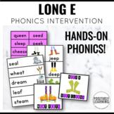 Long E Vowel Activities