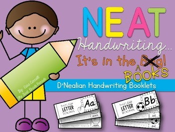 Neat Handwriting...It's In The Books!   {D'Nealian Handwriting Booklets}