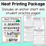 Neat Printing Anchor Charts and Package