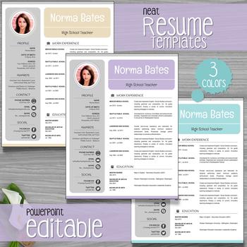 teacher resume template teaching resources teachers pay teachers