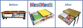 NeatNook School Desk Organizer (One of a Kind)
