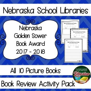 Nebraska Golden Sower Award 2017 - 2018 Book Review Activi