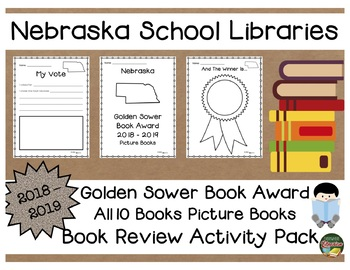 Nebraska Golden Sower Book Award 2018 - 2019  Book Review Activity Pack