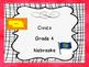 Nebraska Grade 4 Social Studies I Can Statement Posters White Background