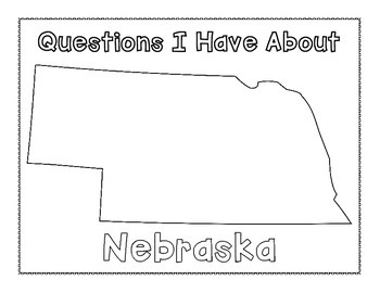 Nebraska Graphic Organizers (Perfect for KWL charts and geography!)