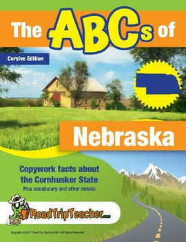 Nebraska Handwriting Printables - Cursive Edition
