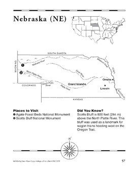 Nebraska (Map & Facts)