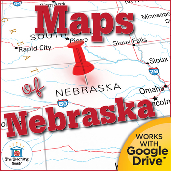 Nebraska State Study Maps Unit