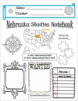 Nebraska Notebook Cover