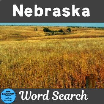 Nebraska Word Search
