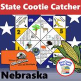 Nebraska State Facts and Symbols Cootie Catcher Distance L