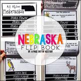 Nebraska State Flipbook Interactive Activity for Social Studies