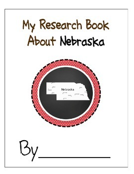Nebraska State Research Student Book